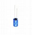 3.0V 1F lead type supercapacitor low esr edlc high power long lifespan 4