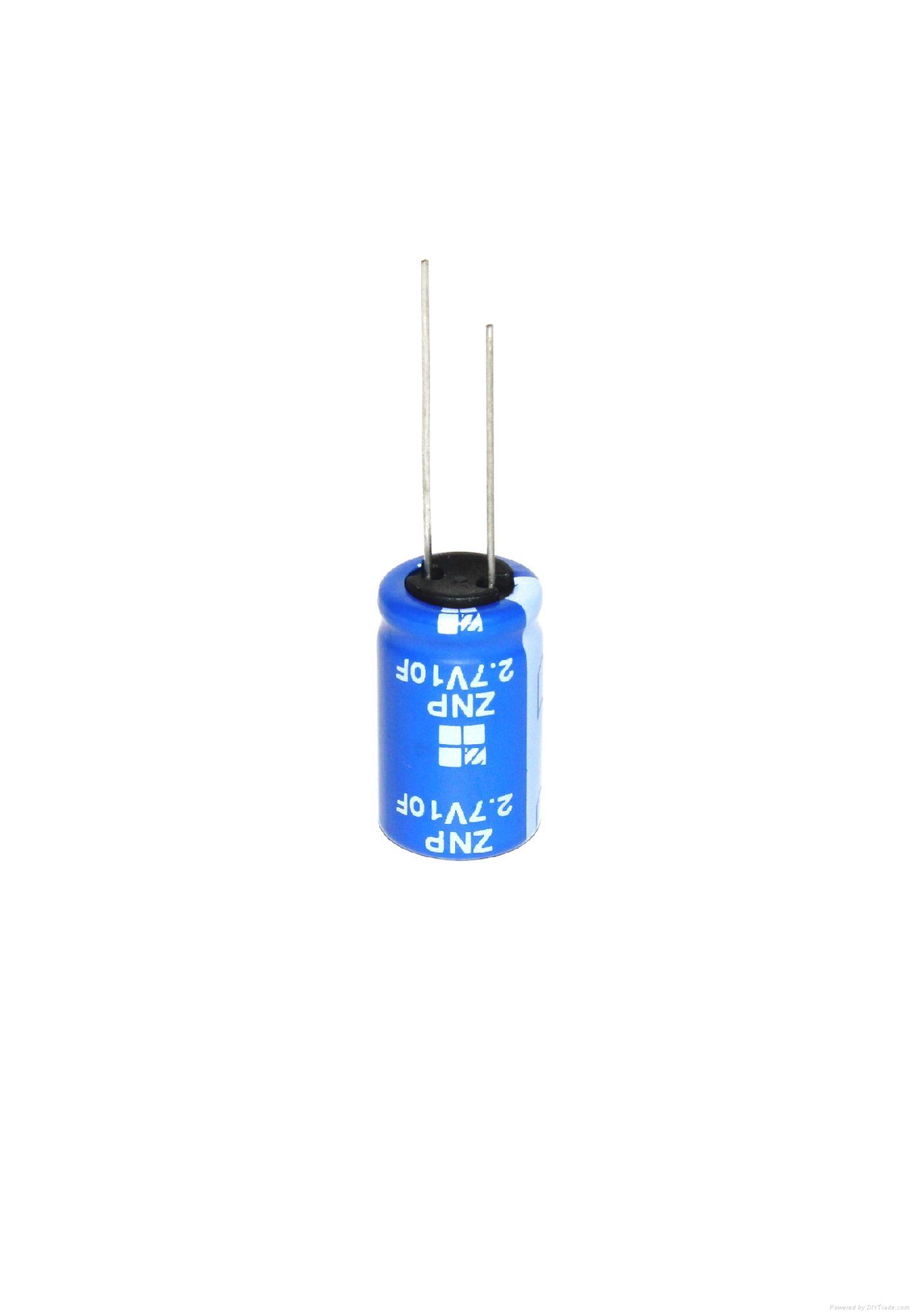 super capacitor 2.7V 10F 3
