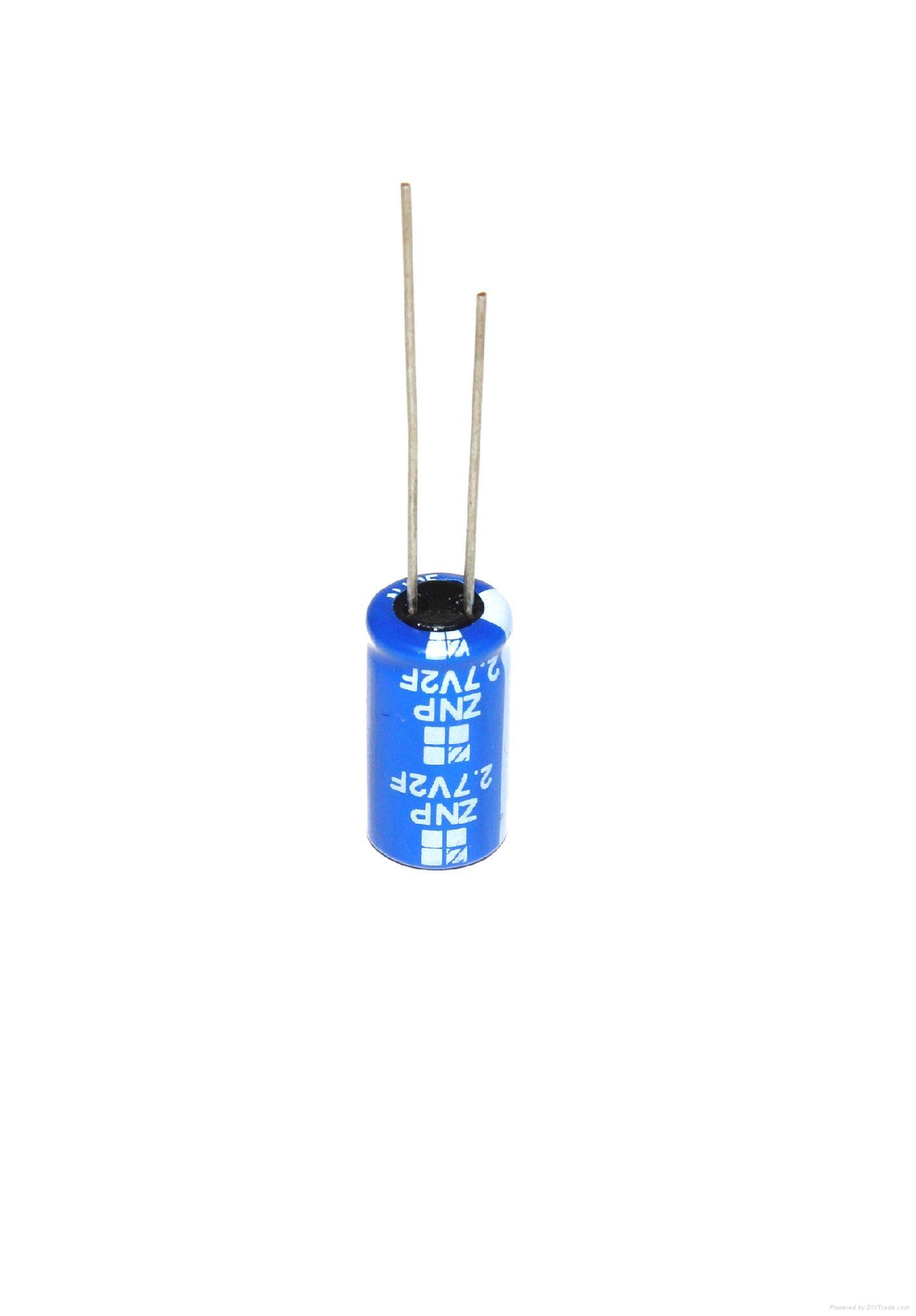 low esr 2.7V 2F Ultracapacitors Supercapacitors Super capacitors 3