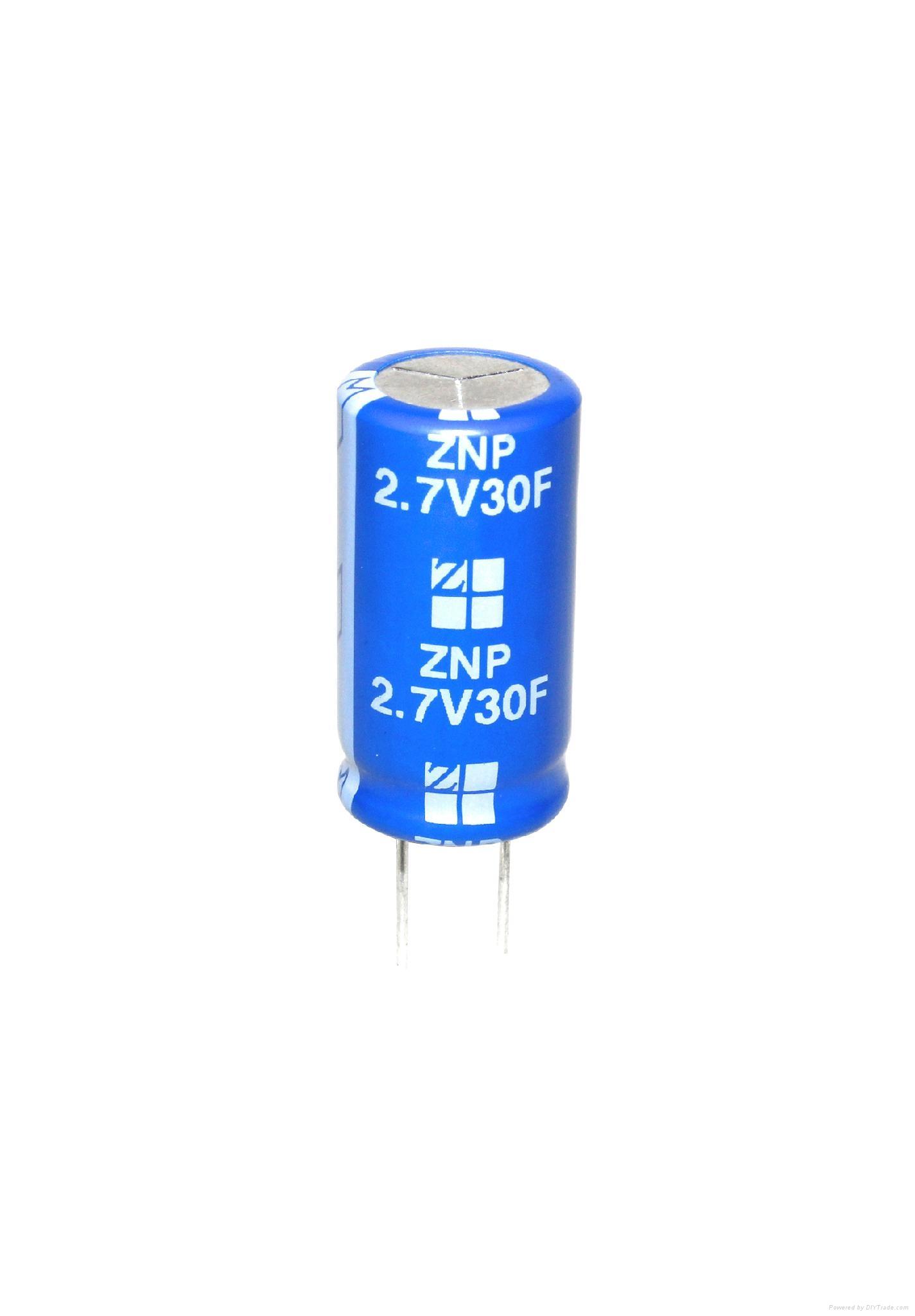 Ultra capacitor supercapacitor 2.7V 30F 5