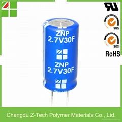 Ultra capacitor supercapacitor 2.7V 30F