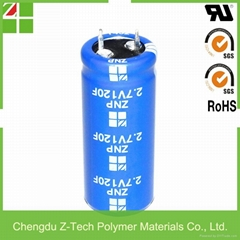 ultra capacitor 120f high power super capacitor EDLC
