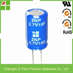 Ultra capacitor 2.7V 10F Supercapacitor cylindrical super capacitor edlc