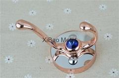 希寶五金衛浴 XB-0110 新款不鏽鋼衣鉤 衛浴挂鉤 藍鑽