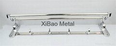 Factory direct sales; Stainless steel towel rack; Movable folding