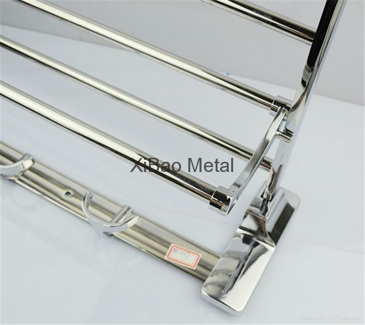 XiBao;Movable folding towel rack ;market one's own products 4