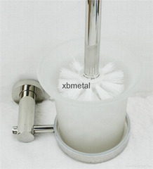 XiBao 6 sets of Bathroom hardware; toilet brush