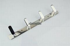 希寶五金衛浴 新款不鏽鋼衣鉤 高質量 XB-0115 合金衣鉤 挂鉤 廠家批發