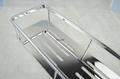 Rectangular racks; Stainless steel; Bathroom Storage Basket 8