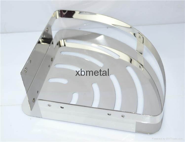 XiBao corner shelf; Stainless steel rack; luggage carrier 2