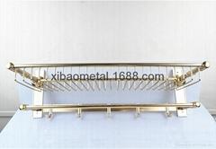 希寶五金衛浴 XBT-0250 衛浴挂件 鋁合金毛巾架 多杆浴巾架