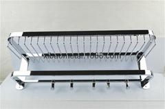 希宝五金卫浴 XBT-0215 卫浴挂件 毛巾架 带篮置物架