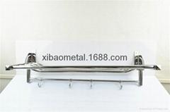 希宝五金卫浴 XBT-0260 卫浴挂件 毛巾架 可折合