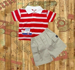 Kids baby boys children cltohes  shirt Knit Cotton Garment