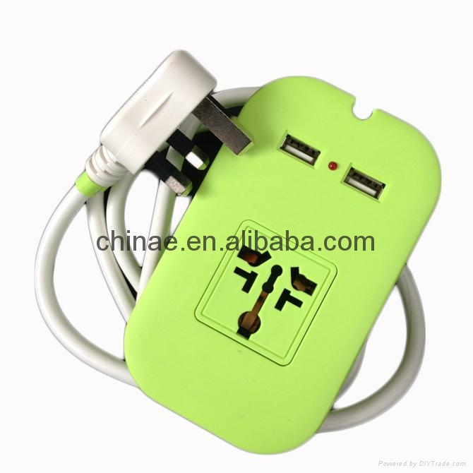 2015 European Pin UL Certificate New Universal USB Sockets 4
