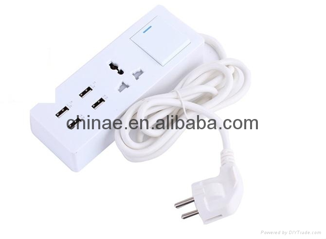 5v 2a micro usb charger 4port USB sockets travel charger 2
