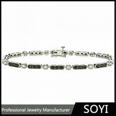 925 sterling silver bracelet for men