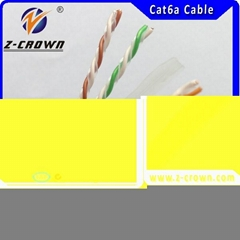 Indoor&outdoor cheap high quality 24AWG cat6 FTP network cable made in china fac