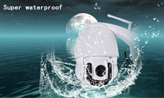 Wifi P2P 720P HD 3xoptical Zoom IR Cut Night Vision Outdoor Security IP Camera