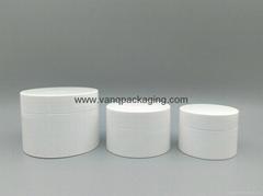 Cream jar Cosmetic jar