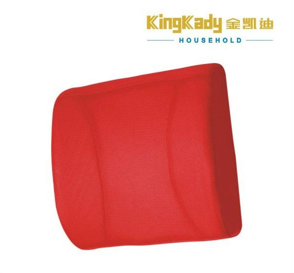 Popular car back support massage cushion foam back pillow 2