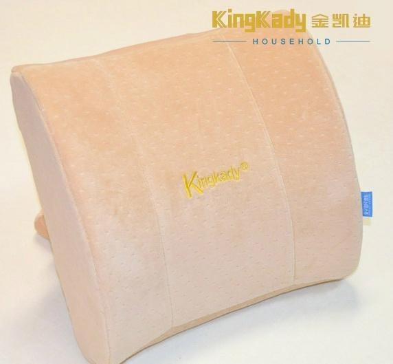 Popular car back support massage cushion foam back pillow 1