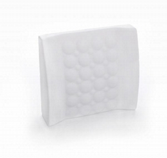 Fashion memory foam massage lumbar support cushion