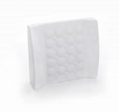 Fashion memory foam massage lumbar support cushion