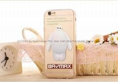 Baymax Cute Fashion 3mm TPU  Mobile Phone Case