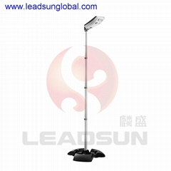 X3 Integrated Solar garden courtyard Light With Bluetooth Speaker Applied by APP