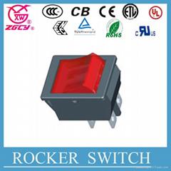 hot selling rocker switch t105 250v