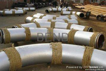 4D.5D 弯管,碳钢弯管,大口径弯头,不锈钢大弯,合金弯管 13