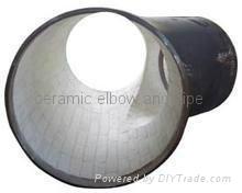 耐磨陶瓷弯头,三通,大小头. 耐磨弯管 2