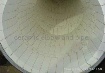 耐磨陶瓷弯头,三通,大小头. 耐磨弯管 1