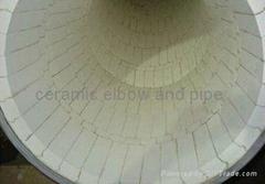 耐磨陶瓷弯头,三通,大小头. 耐磨弯管