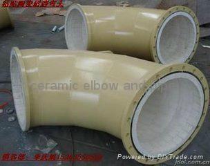 耐磨陶瓷弯头,三通,大小头. 耐磨弯管 18