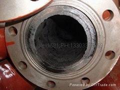 雙金屬彎頭和直管,內襯稀土耐磨鋼、高鉻鑄鐵 彎頭