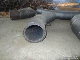 双金属弯头和直管,内衬稀土耐磨钢、高铬铸铁 弯头 8
