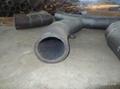 双金属弯头和直管,内衬稀土耐磨钢、高铬铸铁 弯头 9