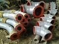 双金属弯头和直管,内衬稀土耐磨钢、高铬铸铁 弯头 15