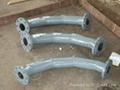双金属弯头和直管,内衬稀土耐磨钢、高铬铸铁 弯头 12