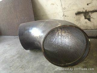 双金属弯头和直管,内衬稀土耐磨钢、高铬铸铁 弯头 10