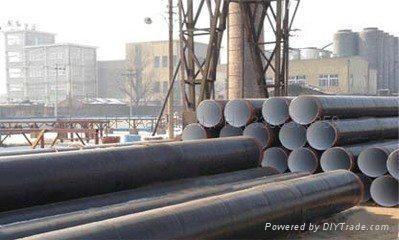 大口徑3PE防腐管道,PLS1,PLS2 ,高頻3PE防腐鋼管, 4