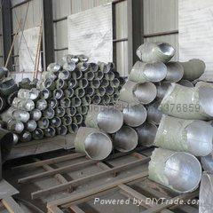 Aluminum elbow.seamless aluminum elbow,90°,1060.5083 elbow. 13