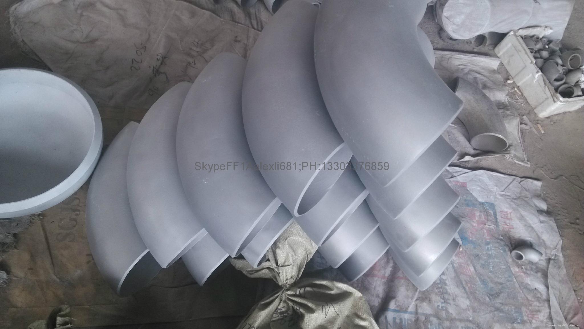 Aluminum elbow.seamless aluminum elbow,90°,1060.5083 elbow. 15