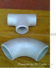 大口径铝三通,国标铝三通,WR-L-3 铝三通,对焊铝三通 2