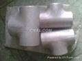 大口径铝三通,国标铝三通,WR-L-3 铝三通,对焊铝三通 3