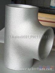 大口径铝三通,国标铝三通,WR-L-3 铝三通,对焊铝三通 4