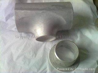 大口径铝三通,国标铝三通,WR-L-3 铝三通,对焊铝三通 6