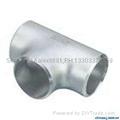 大口径铝三通,国标铝三通,WR-L-3 铝三通,对焊铝三通 8